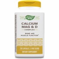 Nature's Way Calcium Magnesium & D Complex Capsules
