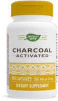 Nature's Way Activated Charcoal Capsules 560mg - 100 ct