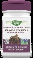 Nature's Way Black Cohosh Standardized Tablets - 60 ct