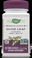 Nature's Way Olive Leaf Standardized Vegan Capsules 250mg - 60 ct