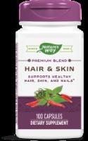Nature's Way Hair & Skin Supplement Capsules 599mg