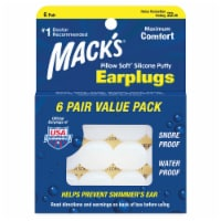 Mack's Pillow Soft Silicone Putty Earplugs Value Pack