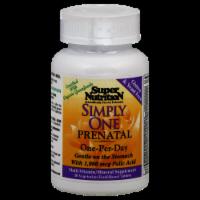 Super Nutrition Simply One Prenatal