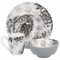 BIA Cordon Bleu Tableware Place Set - Gray Peony
