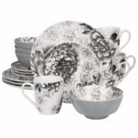 BIA Cordon Bleu Dinnerware Set - Gray Peony