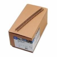 Gbc Wirebind Spines, 1/2  Diameter, 115 Sheet Capacity, Black, 100/Box 9775028 - 1