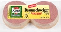 Jones Dairy Farm Braunschweiger Sliced Liverwurst