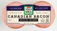 Jones Dairy Farm Hickory Smoked Canadian Bacon - 6 oz