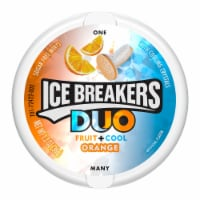 Ice Breakers Duo Fruit + Cool Orange Sugar Free Mints