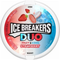 Ice Breakers Duo Fruit+Cool Strawberry Mints