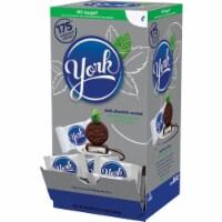 York Dark Chocolate Peppermint Pattie 48 oz. - Case Of: 1