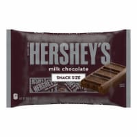HERSHEY'S Snack Size Milk Chocolate Candy Bars