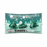 Hershey's Kisses Dark Chocolate Filled with Mint Truffle Holiday Candy