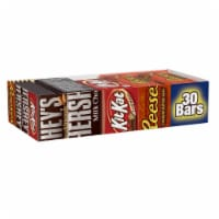 Hershey's Full Size Candy Bars - 30 ct