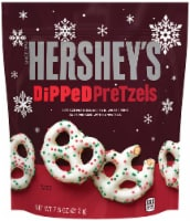 Hershey's Holiday Dipped Pretzels