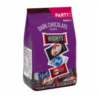 Hershey's Dark Chocolate Lovers Snack Size Candy Assortment