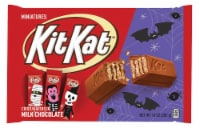 KIT KAT® Halloween Crisp Wafers in Milk Chocoalte Miniatures Candy With Spooky Foils