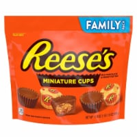 Reese's Miniature Peanut Butter Cups Candy Family Pack Milk Chocolate