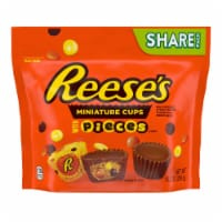 Reese's Miniatures Peanut Butter Cups Stuffed with Reese's PIECES Minis Candy