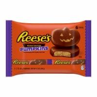 REESE'S Peanut Butter Pumpkins Halloween Candy 6 Count