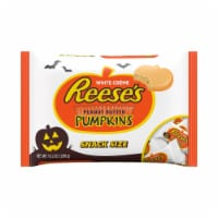 REESE'S Snack Size Orange-Colored Peanut Butter Pumpkins Halloween Candy
