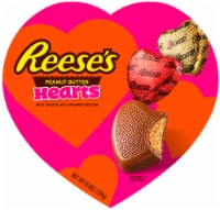 REESE'S Valentine's Milk Chocolate Peanut Butter Hearts Candy Heart Box