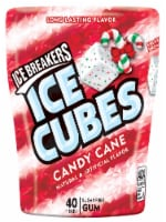 Ice Breakers Ice Cubes Candy Cane Sugar Free Gum