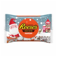 Reese's Milk Chocolate Peanut Butter Santas Holiday Candy