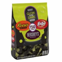Hershey Halloween Candy Assortment with Glow in the Dark Wrappers 150 Count