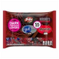 Hershey Dark Chocolate Lovers Snack Size Halloween Candy Assortment