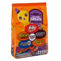 All Time Greats Hershey Snack Size Halloween Candy Assortment 100 Count