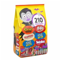 Hershey's Reese's, Jolly Rancher, Twizzlers, Whoppers, and Kit Kat® Candy Assortment - 210 ct