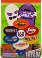 All Time Greats Hershey Halloween Candy Assortment 160 Count