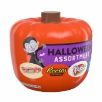 Hershey Assorted Pumpkin Bowl Miniatures Candy Halloween Assortment