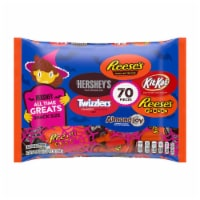 Hershey Halloween All Time Greats Chocolate and Sweets Snack Size Candy Assortment 70 Count
