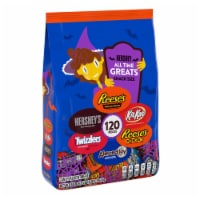 Hershey's All Time Greats Chocolate and Sweets Snack Size Candy Assortment - 120 ct / 58 oz