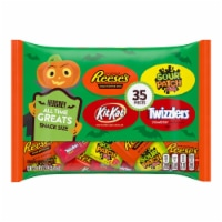 Hershey's Reese's Kit Kat Sour Patch Kids Twizzlers Candy Assortment 35 Count