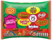 REESE'S TWIZZLERS KIT KAT® SOUR PATCH KIDS & SWEDISH FISH Snack Size Halloween Candy Assortment