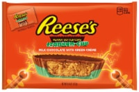 REESE'S Peanut Butter Cups Franken-Cups Halloween Candy Milk Chocolate with Green Colored Creme
