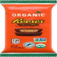 Reese's Organic Milk Chocolate Peanut Butter Cups