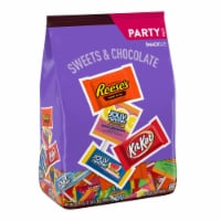 Hershey's Sweets & Chocolate Snack Size Party Mix Candy Assortment