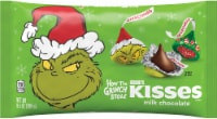 Hershey's Holiday How The Grinch Stole Milk Chocolate Kisses - 9.4 oz