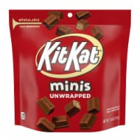 Kit Kat Minis Unwrapped Milk Chocolate Wafer Bars Candy Share Pack - 7.6 oz
