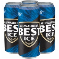 Milwaukee's Best Ice American Lager Beer - 4 cans / 16 fl oz
