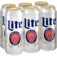 Miller Lite American Lager Beer 6 Cans