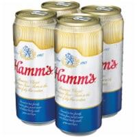 Hamm's America's Classic Premium Lager Beer 4 Count