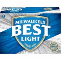 Milwaukee's Best Light American Lager Beer 24 Cans