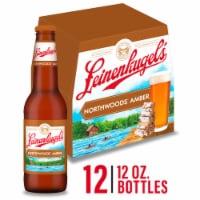 Leinenkugel's Northwoods Lager Beer 12 Bottles