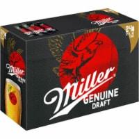 Miller Genuine Draft American Lager Beer