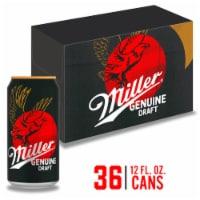 Miller Genuine Draft American Lager Beer 36 Cans